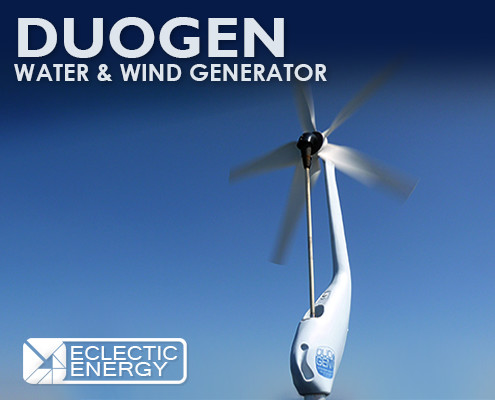 Micro Wind Turbines manufactured by Eclectic Energy Ltd