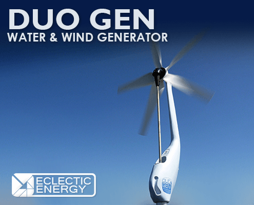 DuoGen Water and Wind Generator